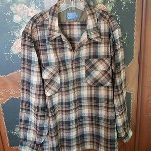 Pendleton shirt wool xl tall